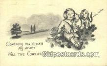 xrt071312 - Artist Cobb Shinn Postcard Post Card, Old Vintage Antique