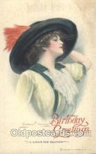 xrt083026 - Birthday Greetings, Artist Signed Clarence Underwood, Postcard Postcards