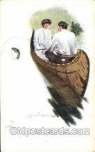 xrt083066 - Artist Signed Clarence Underwood, Postcard Postcards
