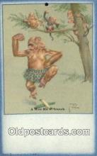 xrt089048 - Artist Larson Wood Postcard Post Card Old Vintage Antique