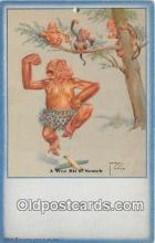 xrt089070 - Artist Lawson Wood Wee Bit O' Scotch Postcard Post Card