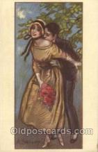 xrt090005 - Artist Signed A. Zandrino Postcard Postcards