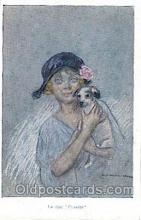 Artist Signed Zandrino, A Postcard Post Card
