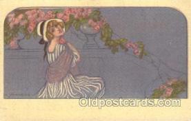 xrt090022 - Artist Signed A. Zandrino Postcard Postcards