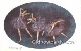 xrt090027 - Artist Zandrino, Adelina Postcard Post Card Old Vintage Antique