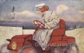 xrt096002 - Artist Signed Raphael Kirchner Postcard Postcards