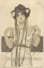 xrt096007 - Artist Signed Raphael Kirchner Postcard Postcards