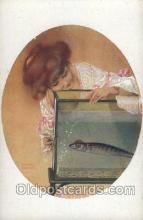 xrt096008 - Artist Signed Raphael Kirchner Postcard Postcards