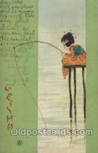 xrt096013 - Artist Signed Raphael Kirchner Postcard Postcards