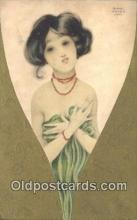 xrt096024 - H.M. & Co, London Series 123 Artist Signed Raphael Kirchner Postcard Post Card Old Vintage Antique