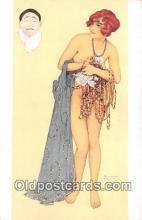 xrt096051 - # 2 Les Peches Capitaux L'Avarice Artist Raphael Kirchner Postcard Postcard Post Card