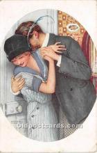 xrt096108 - Artist Raphael Kirchner Old Vintage Postcard