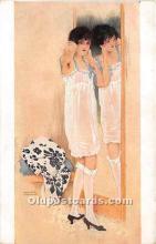 xrt096114 - Artist Raphael Kirchner Old Vintage Postcard
