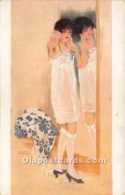 xrt096115 - Artist Raphael Kirchner Old Vintage Postcard