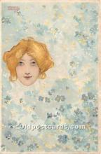 xrt096131 - Artist Raphael Kirchner Old Vintage Postcard