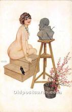 xrt096137 - Artist Raphael Kirchner Old Vintage Postcard
