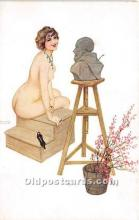 xrt096138 - Artist Raphael Kirchner Old Vintage Postcard