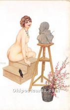 xrt096139 - Artist Raphael Kirchner Old Vintage Postcard