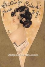 xrt096140 - Artist Raphael Kirchner Old Vintage Postcard