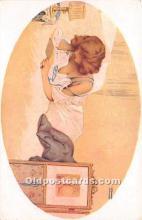 xrt096143 - Artist Raphael Kirchner Old Vintage Postcard