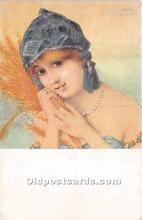 xrt096145 - Artist Raphael Kirchner Old Vintage Postcard