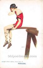 xrt096154 - Artist Raphael Kirchner Old Vintage Postcard