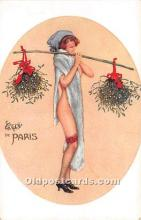 xrt096161 - Artist Raphael Kirchner Old Vintage Postcard