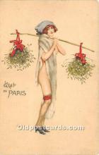 xrt096162 - Artist Raphael Kirchner Old Vintage Postcard