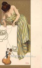 xrt096163 - Artist Raphael Kirchner Old Vintage Postcard