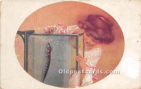 xrt096181 - Artist Raphael Kirchner Old Vintage Postcard