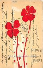xrt096182 - Artist Raphael Kirchner Old Vintage Postcard
