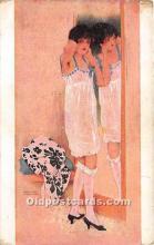 xrt096184 - Artist Raphael Kirchner Old Vintage Postcard