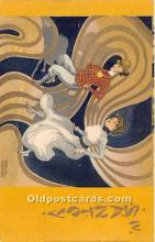 xrt096190 - Artist Raphael Kirchner Old Vintage Postcard