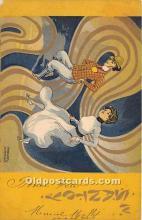 xrt096191 - Artist Raphael Kirchner Old Vintage Postcard