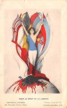 xrt096195 - Artist Raphael Kirchner Old Vintage Postcard