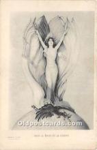 xrt096196 - Artist Raphael Kirchner Old Vintage Postcard