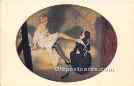 xrt096198 - Artist Raphael Kirchner Old Vintage Postcard