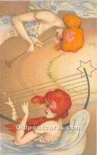 xrt096206 - Artist Raphael Kirchner Old Vintage Postcard