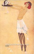 xrt096207 - Artist Raphael Kirchner Old Vintage Postcard