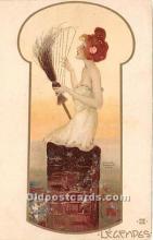 xrt096211 - Artist Raphael Kirchner Old Vintage Postcard