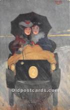xrt096214 - Artist Raphael Kirchner Old Vintage Postcard