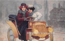 xrt096223 - Artist Raphael Kirchner Old Vintage Postcard
