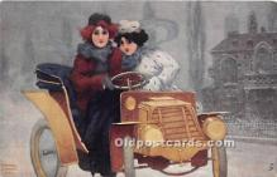 xrt096225 - Artist Raphael Kirchner Old Vintage Postcard