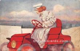 xrt096226 - Artist Raphael Kirchner Old Vintage Postcard