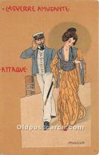 xrt096230 - Artist Raphael Kirchner Old Vintage Postcard