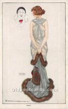 xrt096233 - Artist Raphael Kirchner Old Vintage Postcard