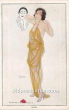 xrt096235 - Artist Raphael Kirchner Old Vintage Postcard