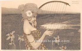 xrt096237 - Artist Raphael Kirchner Old Vintage Postcard