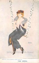 xrt096238 - Artist Raphael Kirchner Old Vintage Postcard