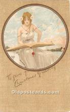 xrt096244 - Artist Raphael Kirchner Old Vintage Postcard